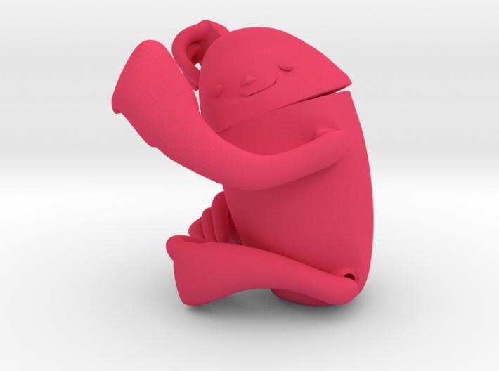 Lila . Bicho Preguissa . Aimbé. Sloth . ナマケモノ 3d printed
