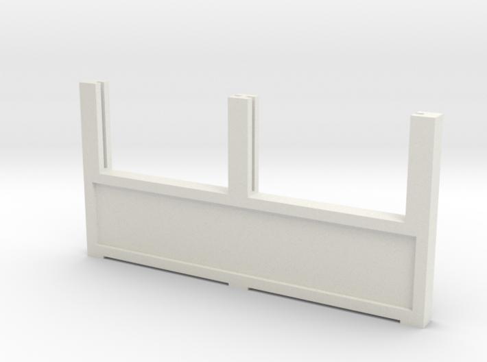Zaunhalter Querträger 43mm Türseite Groß V2 3d printed