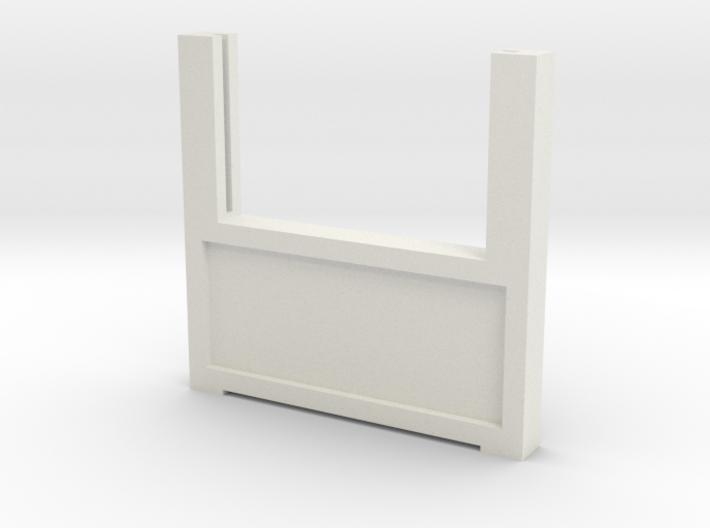 Zaunhalter Winkel Türseite V2 3d printed