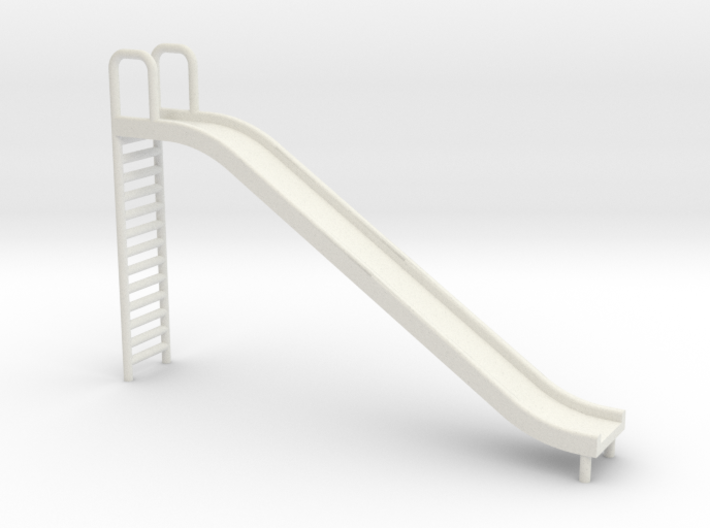 Playground Slide - 'O' 48:1 Scale 3d printed