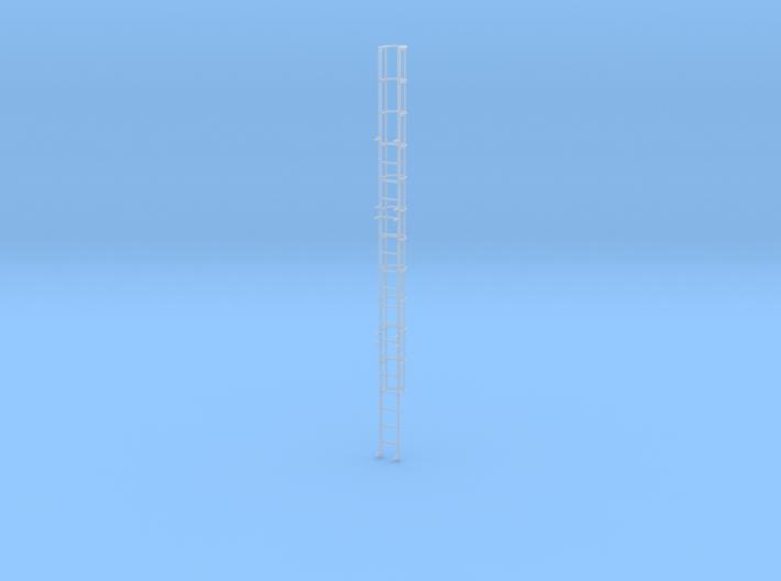 Signalbrücke Aufstiegsleiter Mit Fangkorb 3d printed