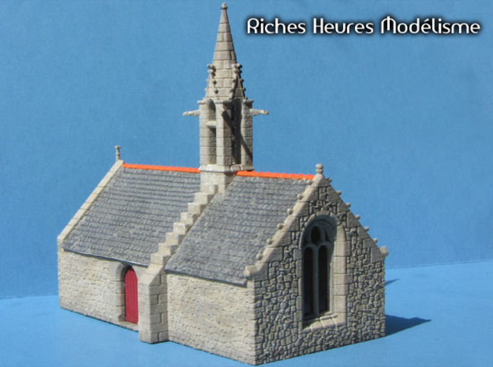 HOvMb11 - Brittany village 3d printed