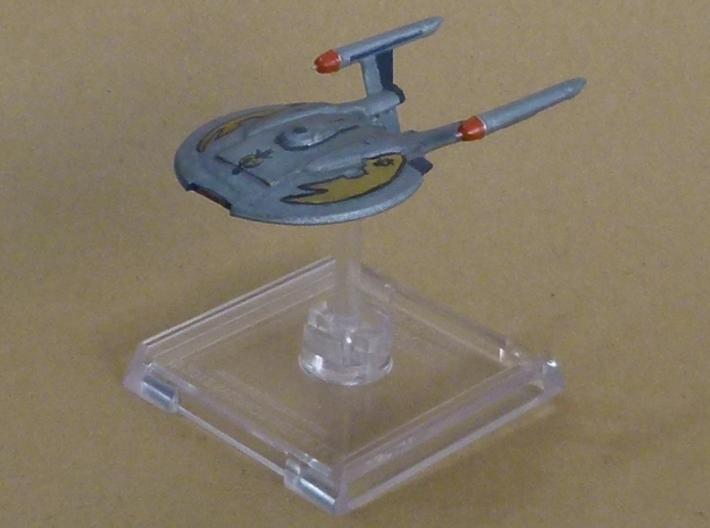 NX Class Refit FUD 3d printed Painted as Mirror Universe Ship
