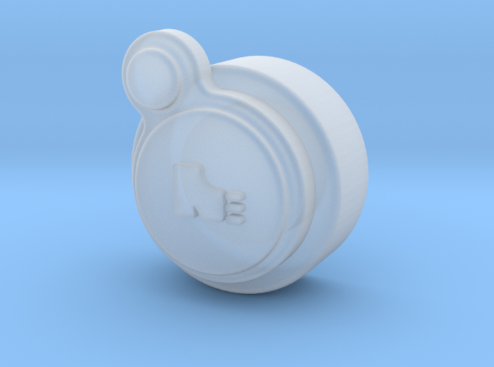 Ancient Drifter's Coin 3d printed