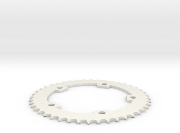 44 Tooth Chainring for Fixie Bicycle 3d printed
