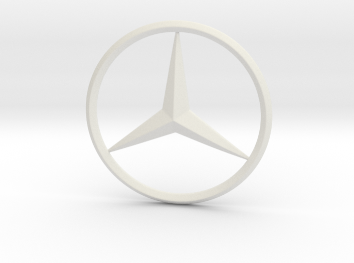 Mercedes logo For Printing 3d printed