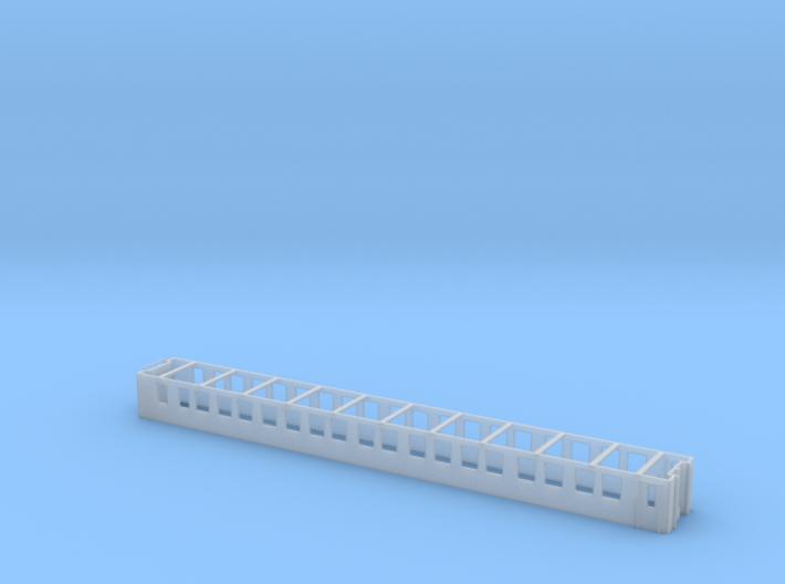 Wagenkasten WLAM SBB Scale TT 3d printed