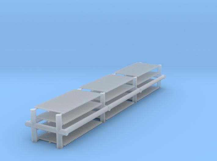 People Grid Sprue Set 3d printed