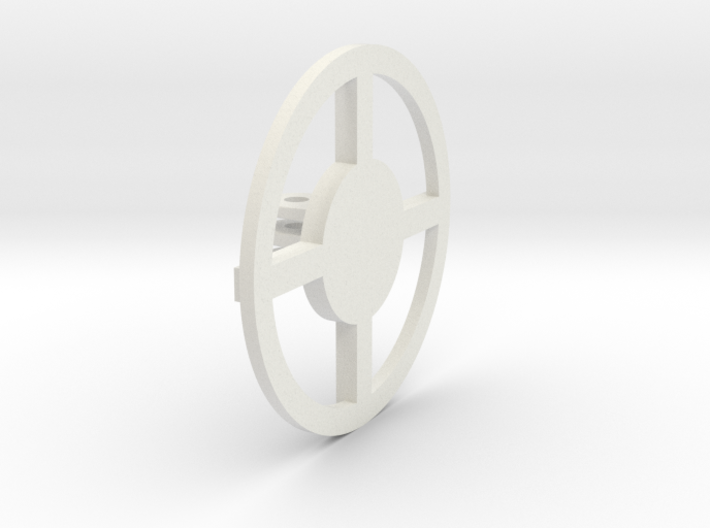 Round Base 3 Prong 01 3d printed