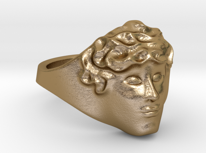 APOLLUS RING 3d printed