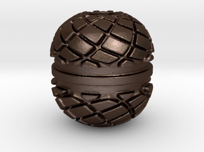 Spiro Begleri Bead 3d printed