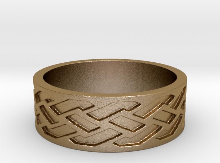 Weave v3 Ring Size 10.25 3d printed
