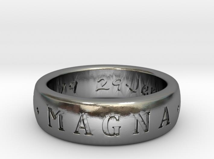 Sir Francis Drake Ring (Uncharted 3) 3d printed