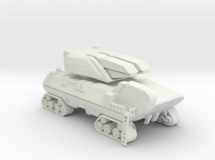 Crawler Particle Cannon 3d printed