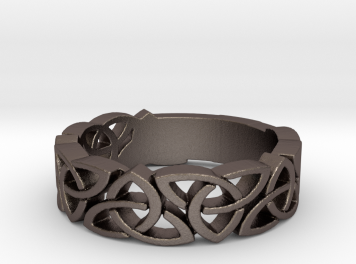 Celtic Ring Size 7.25 3d printed