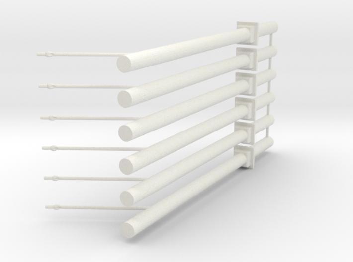 Betonmast V3 6fach 3d printed