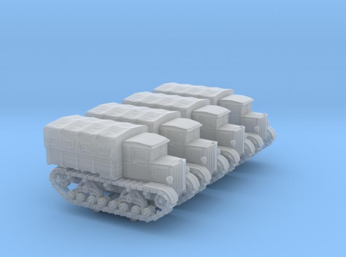 Voroshilovetz Tractor (6mm 4-up) 3d printed