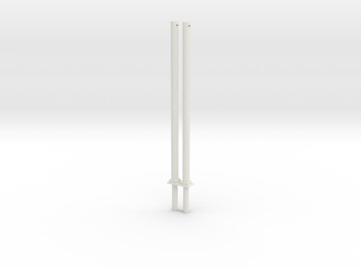 2 Masten Für Quertragewerk 3d printed