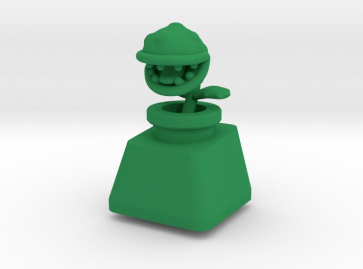 Topre Piranha Plant Keycap 3d printed