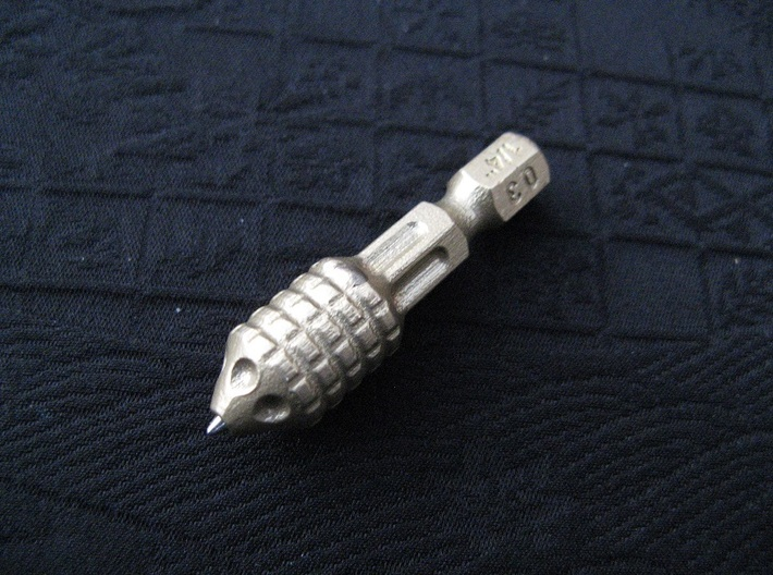 "1/4"" Hex Bit Pen 03 (012) 3d printed"