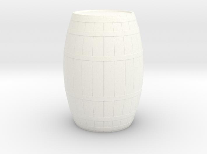 18th Century Barrel (21hx15dia) 1/35 3d printed