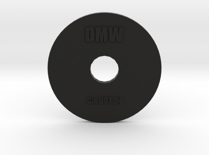 Clay Extruder Die: Circle 001 04 3d printed