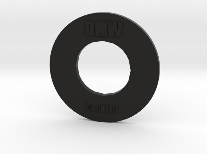 Clay Extruder Die: Circle 001 07 3d printed