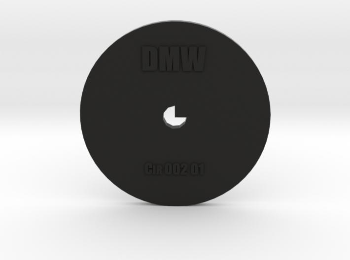 Clay Extruder Die: Circle 002 01 3d printed