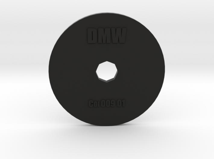 Clay Extruder Die: Coil 009 01 3d printed