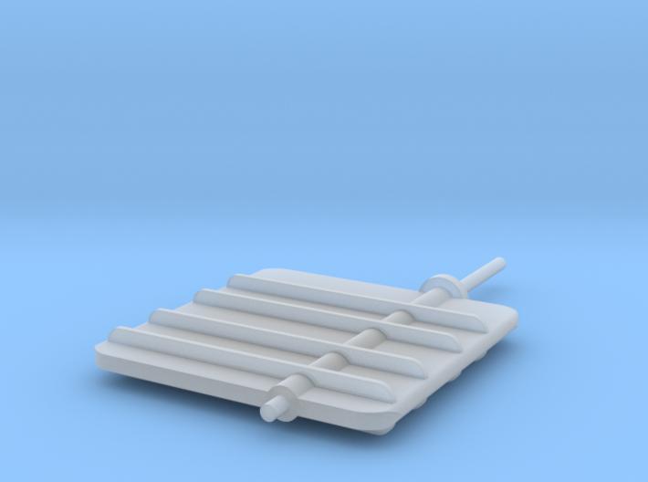 Main Rudder 1-32 3d printed