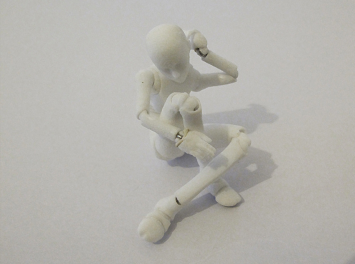 1/16 FEMALE ball jointed doll kit 3d printed