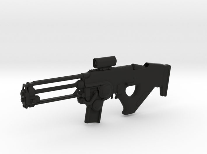 Tuonela Rifle (1:6 Scale) 3d printed
