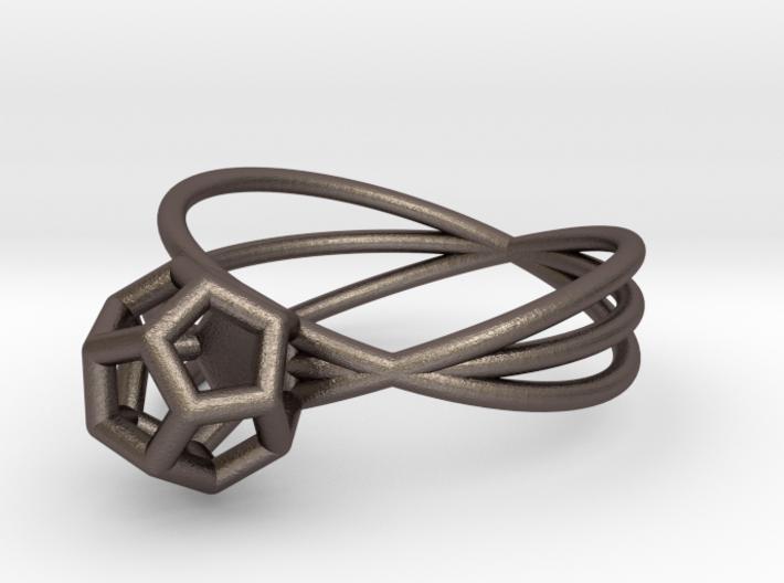 Essential Simplicity - Ring 3d printed