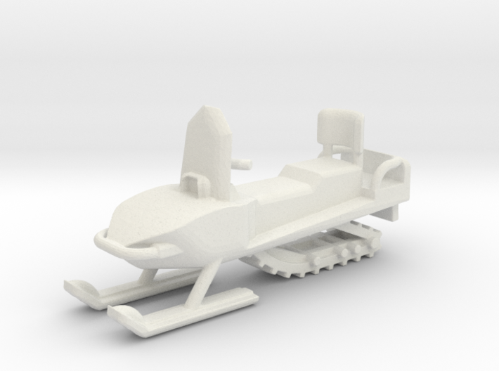 Snowmobile 1-87 HO Scale 3d printed
