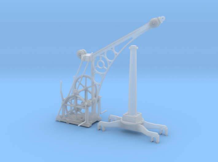 1:32 or Gn15 Railway Hand Crane 3d printed
