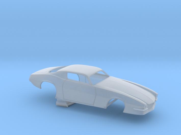 1/64 Pro Mod 73 Camaro Flat Hood 3d printed