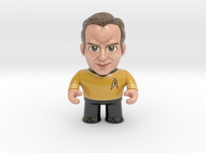 Kirk Star Trek Caricature 3d printed Captain Kirk Star Trek Caricature
