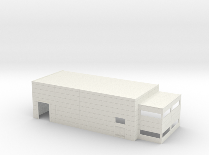 N Scale Industrial Building With Office 3d printed