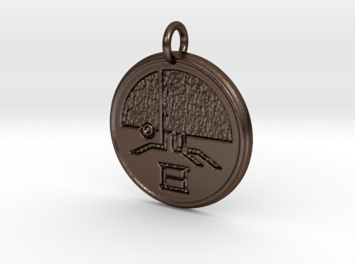 Riven Scarab Pendant - version 1 (not part of set) 3d printed