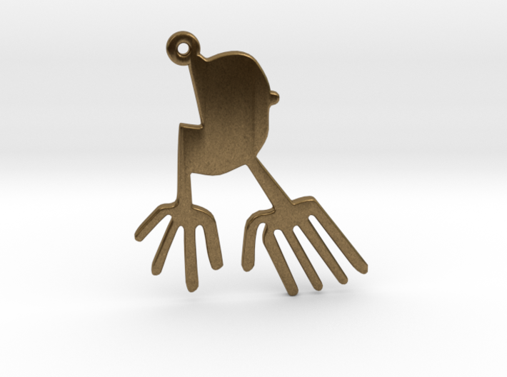 Nazca: The Bird 3d printed