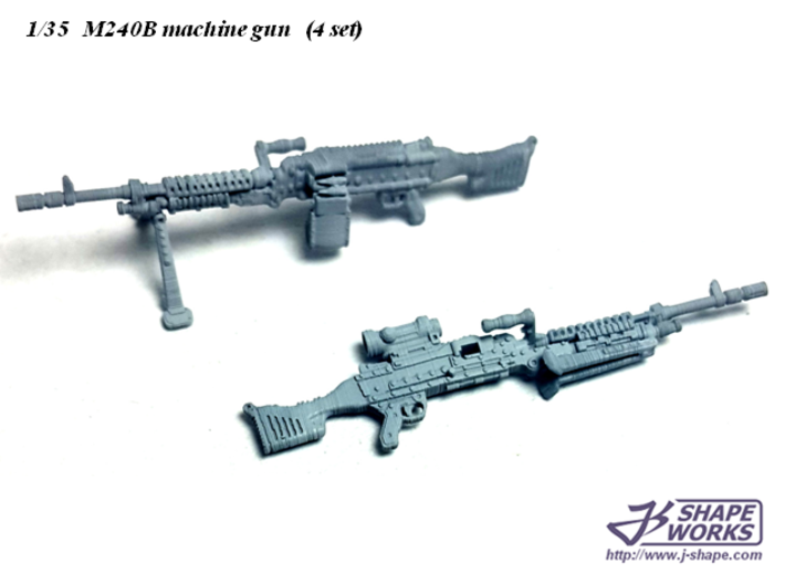 1/35 M240B machine gun (4 set) 3d printed