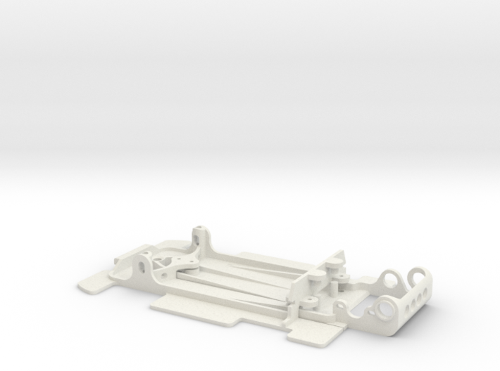 Slot car chassis for 962 CKH 1/28 3d printed
