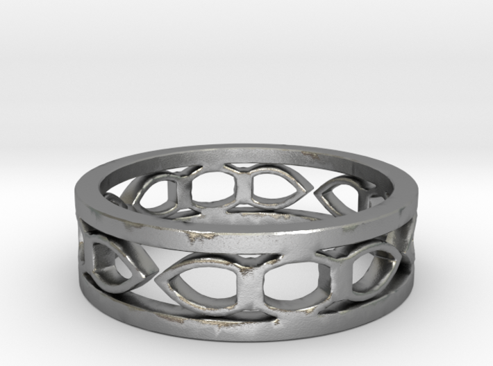 Medieval ring Ring Size 7 1/2 3d printed