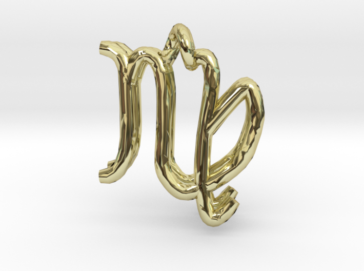 Virgo Zodiac- 2pendants 3d printed