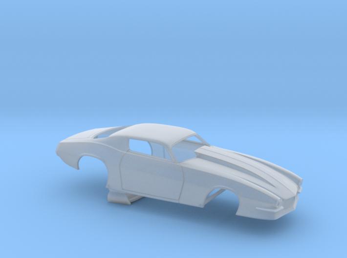 1/43 Pro Mod Camaro Cowl Hood 3d printed