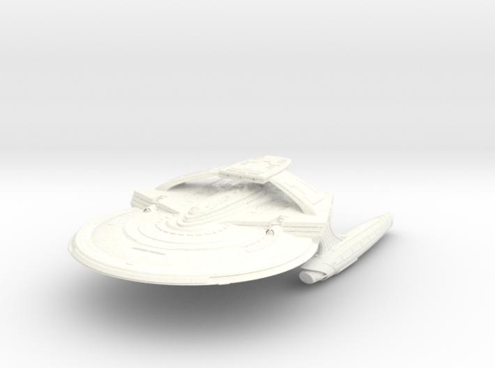 "Reliant Refit A Class Cruiser 7.3"" 3d printed"