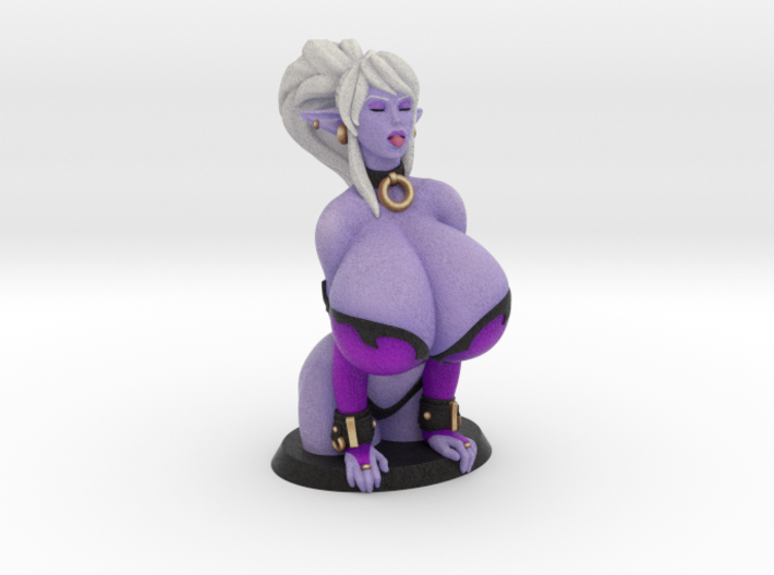 Syx Bust Statue - 10 cm (100mm) 3d printed