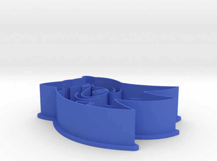 Sonic The Hedgehog Cookie Cutter 3d printed