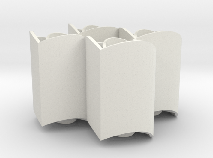 Improved Ambiguous Cylinder Illusion (Layout 1) 3d printed