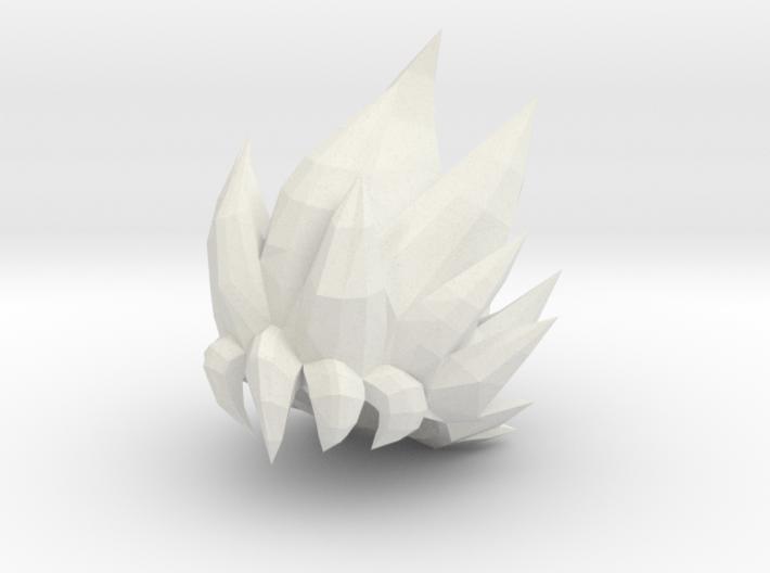 Custom Goku SSjG1 Inspired Lego 3d printed